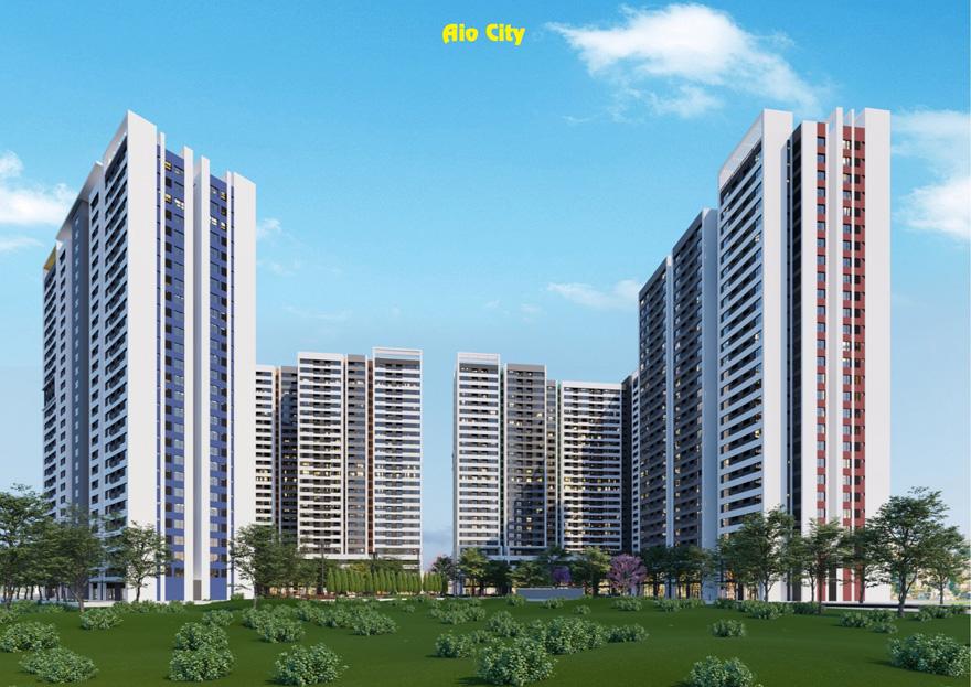 dự án aio city bình tân mặt tiền đường tên lửa