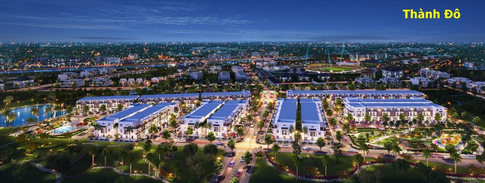 dự án nhà phố thành đô