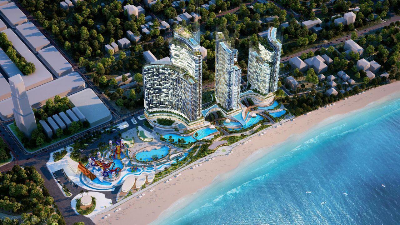 mặt bằng dự án sunbay park