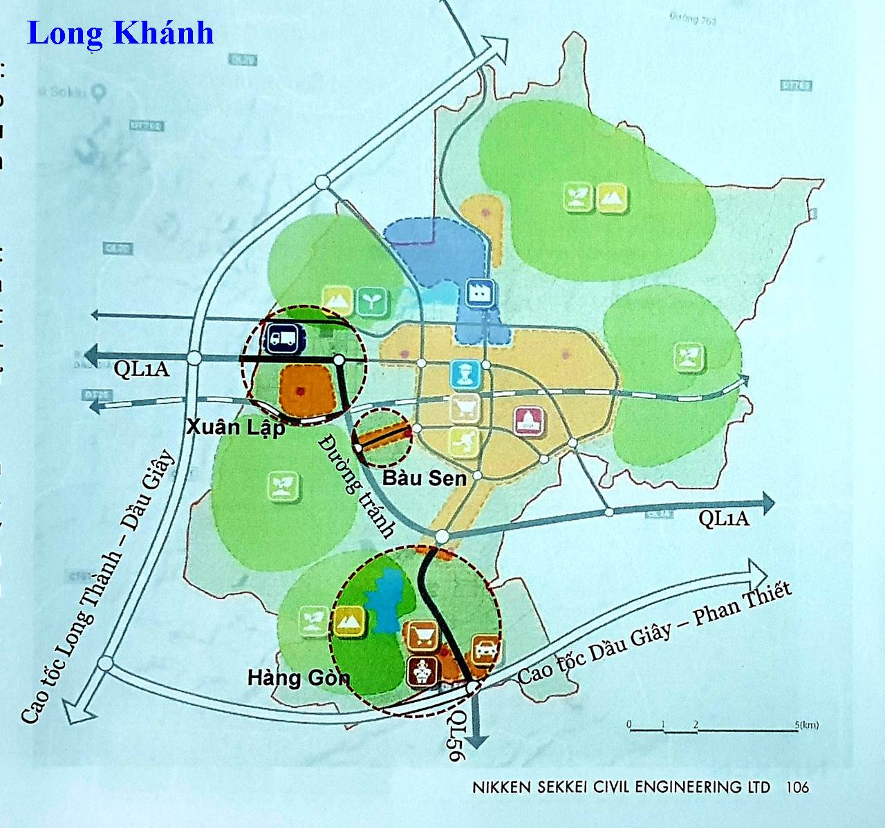bản đồ quy hoạch tp long khánh